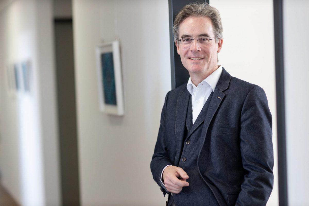 Rechtsanwalt Stephan Schlak, Anwaltskanzlei Springer, Obinger & Partner mbB, Weingarten. Foto: Wynrich Zlomke (2020)
